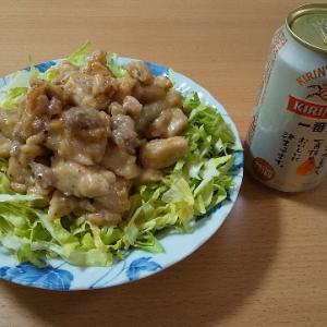 【休日クッキング】メチャウマたまらん♪ガッツリ食べれる鶏の味噌焼き丼