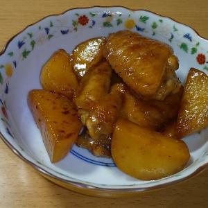 【休日クッキング】ご飯がすすむ味!手羽先とポテトの照り焼き