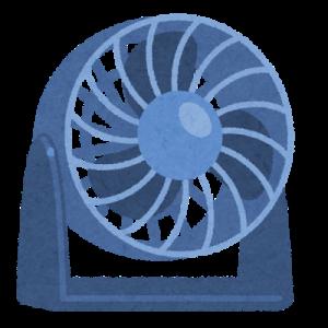 電気代を節約しつつ暑さをしのぐため「サーキュレーター3D」を解禁