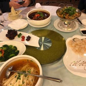 上海の中華1、「麦哲伦宴会厅」初めて見た上海外滩の夜景は絶景?