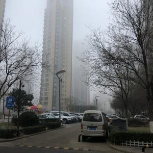 本日の天津の空気は最悪!でも普段は快晴!心配ご無用!