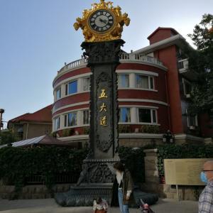 天津の五大道は国慶節で大賑わい