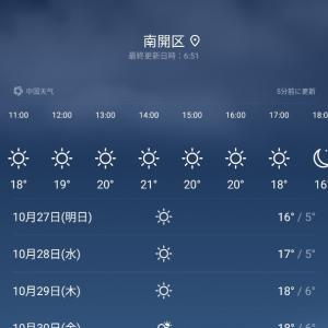 天津の一番厳しい季節、それは実は10月末の紅葉の季節!