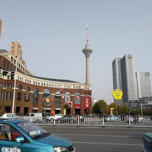天津で紅葉その3~水上公園、家の近くでも紅葉??