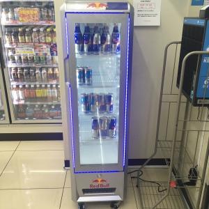 【陳列】レッドブル専用冷蔵ケース