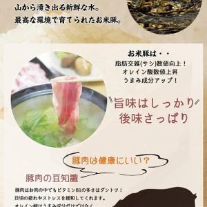 【ふるさと納税2年連続日本一】宮崎県都城市の絶品「お米豚」