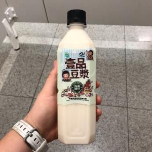 香港セブンイレブンの豆乳