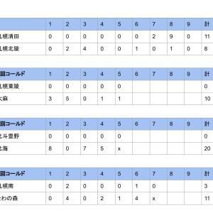 【秋季大会】第74回北海道秋季高校野球大会1