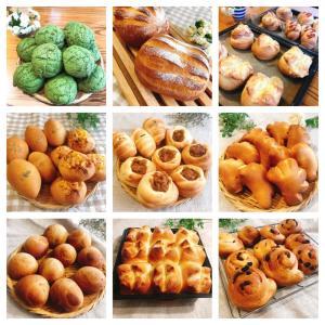 コロナ休み中に作ったパンたち