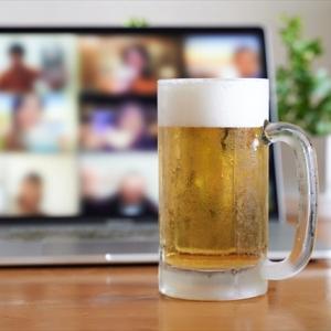 ELMの師匠&同期リーダーとオンライン飲み会~周りに医療系の方が多いのは何故だろう?