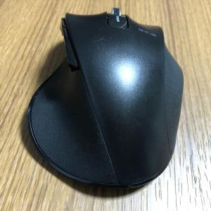 【PC快適作業】握り心地を追求したワイヤレスBlueLEDマウス(ELECOM)が驚きの安価なのに高性能