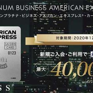 納税でもポイントが貯まる、セゾンプラチナ・ビジネス・アメリカン・エクスプレスカードの入会は今のうちに