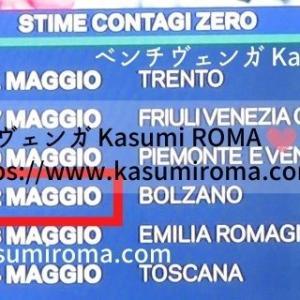 イタリア「感染者ゼロ!予定日カレンダー」発表!と、大切なクイズ♪ ~ 新型コロナウイルスーCOVIDー19ー/新型肺炎 ~