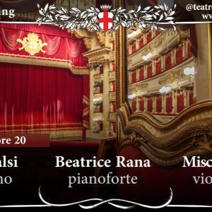 再開!ミラノ・スカラ座「コンサートがストリーミングで楽しめる、ぞ!」 7月6日から  イタリア ~ Teatro alla Scala ~