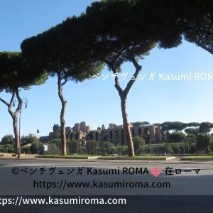 ローマ現在「チルコ・マッシモ」⑭と、この夏のお楽しみ♪ ~ Circo Massimo ~
