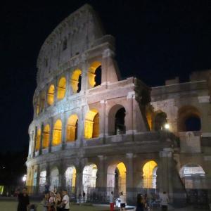 「美しいコロッセオ」@夏のローマ「夜さんぽ♪」2020