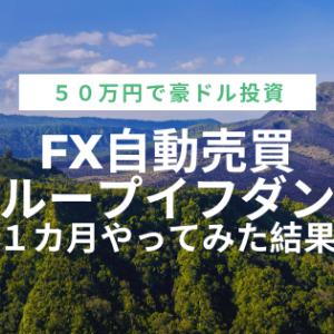 【ループイフダン運用実績】1カ月目の利益報告!