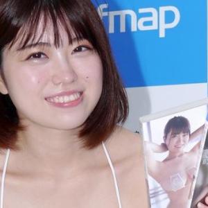 グラビアアイドル麻亜子が5th DVD「時空の奇跡」で高校時代にタイムスリップ!