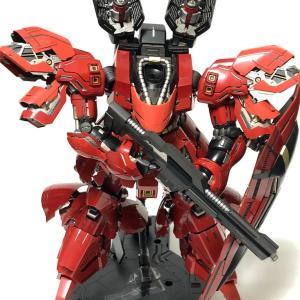 「ガンプラ」 MGサザビー Ver.ka 武器製作③