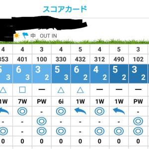 ゴルフは難しい(´・ω・`)/~~