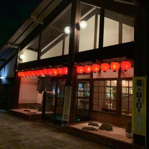地元の焼肉店「静」で晩ご飯