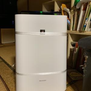 我が家の空気清浄機