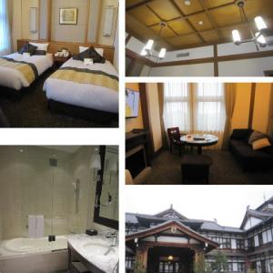 憧れのホテルへ宿泊