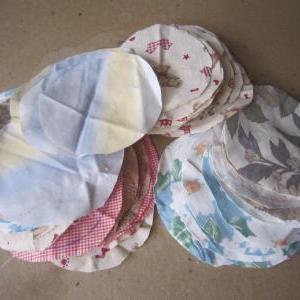 ヨーヨーキルトの目隠し暖簾制作 1