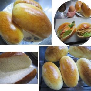今日はパン屋さん、コッペパン