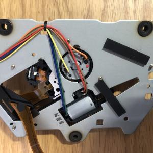 CDプレーヤー修理(PIONEER PD-J500)