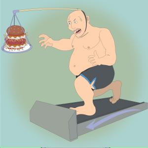 姿勢が悪いと太りやすい?