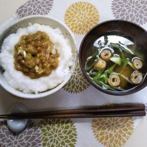 納豆定食再現に2時間⁉