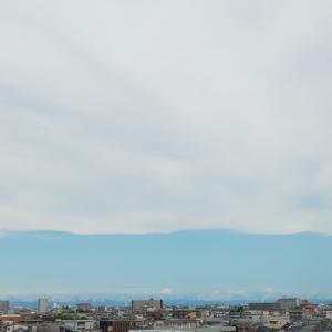 こんな空もある、これはこれでキレイ