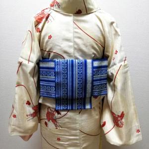 【募集】着物に似合う半幅帯結びオンラインレッスン