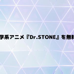 【VOD】科学系アニメ『Dr.STONE』を無料で見る方法