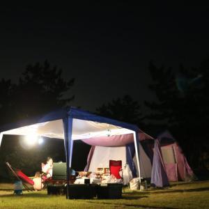 大淀西海岸ムーンビーチキャンプ場の紹介