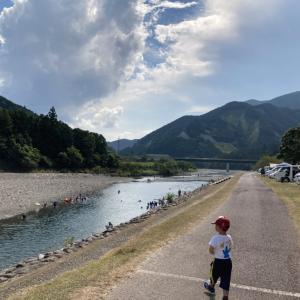 奇跡の清流 銚子川で遊びつくす 【キャンプinn海山】