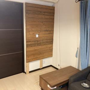 【DIY】壁掛けテレビボード自作 幼児がいる家庭にオススメ