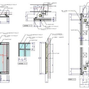 汎用性のあるミラーパネルの作図事例