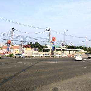大沢付近にあるバイパスのガソリンスタンドが休業中みたい。「ENEOS Dr.Driveセルフ泉インターシティ店」