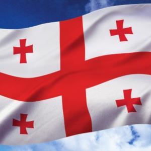 ジョージア国旗の写真やイラスト無料素材
