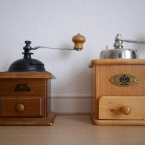 ハンドドリップコーヒーのための道具たち。