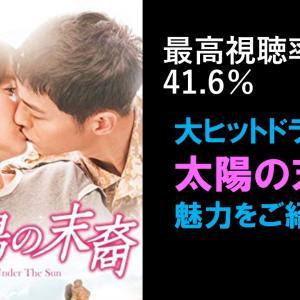 大ヒット人気ドラマ「太陽の末裔 Love Under The Sun」の魅力をご紹介!