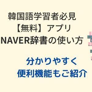 【無料】NAVER辞書の使い方・便利機能をご紹介【2020年改定】