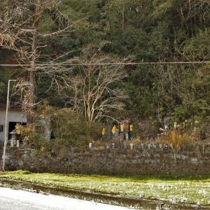 山添岩薬師石仏群 南北朝時代、室町時代後期 玉名郡南関町