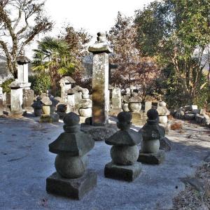長村家墓地笠塔婆 南北朝時代後期~室町時代前期 玖珠郡玖珠町