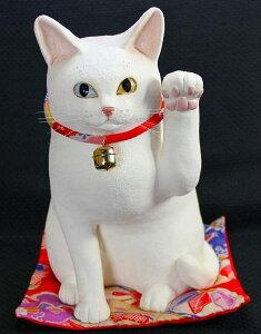 まねき猫の置物(陶器・張り子・麻・ビニール等)
