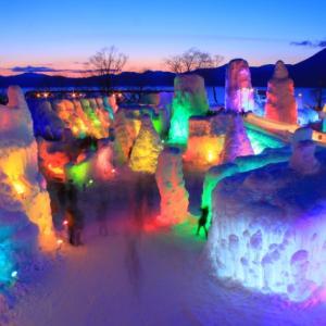 冬の北海道の観光におすすめ!支笏湖氷濤まつり