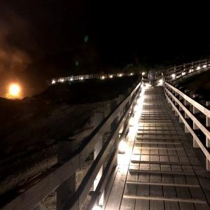 夜の地獄谷は幻想的だった!伊達市&登別温泉ミニ旅行最終回【観光・お勧め・口コミ】