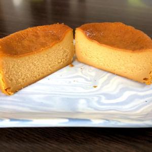 セブンイレブンの新商品「キャラメルバスクチーズケーキ」を食べてみた【コンビニスイーツ・口コミ】